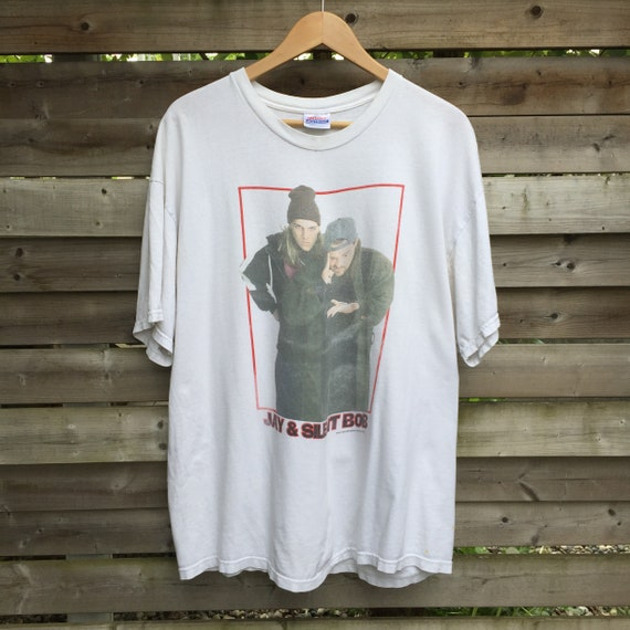 90s Jay And Silent Bob View Askew Movie Vintage T Shirt by Etsy