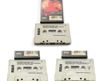 80's daryl hall & john oates - H2O   cassette tape