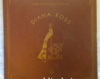 Diana Ross - Lady Sings The Blues - + Booklet - Vinyl Record Motown 1972 LP Billie Holiday Jazz Soundtrack