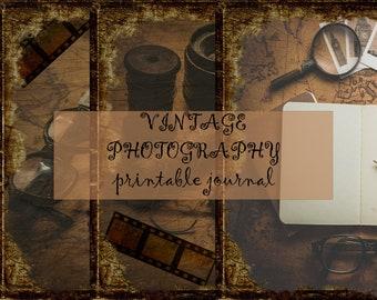 Vintage Photography Printable Journal- link