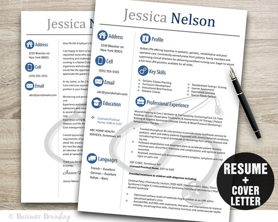 Medical resume templateinstant download medical resumeresume medical resume templateinstant download medical resumeresume cover letter template nurse resume template word cv template stethoscope yelopaper Image collections