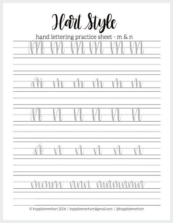 small hand lettering practice sheets hand lettering worksheets faux calligraphy worksheets. Black Bedroom Furniture Sets. Home Design Ideas