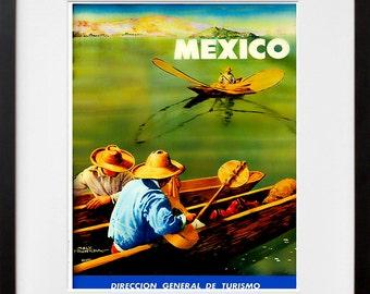 Mexico Travel Poster Mexican Art Print Home Decor (ZT392)
