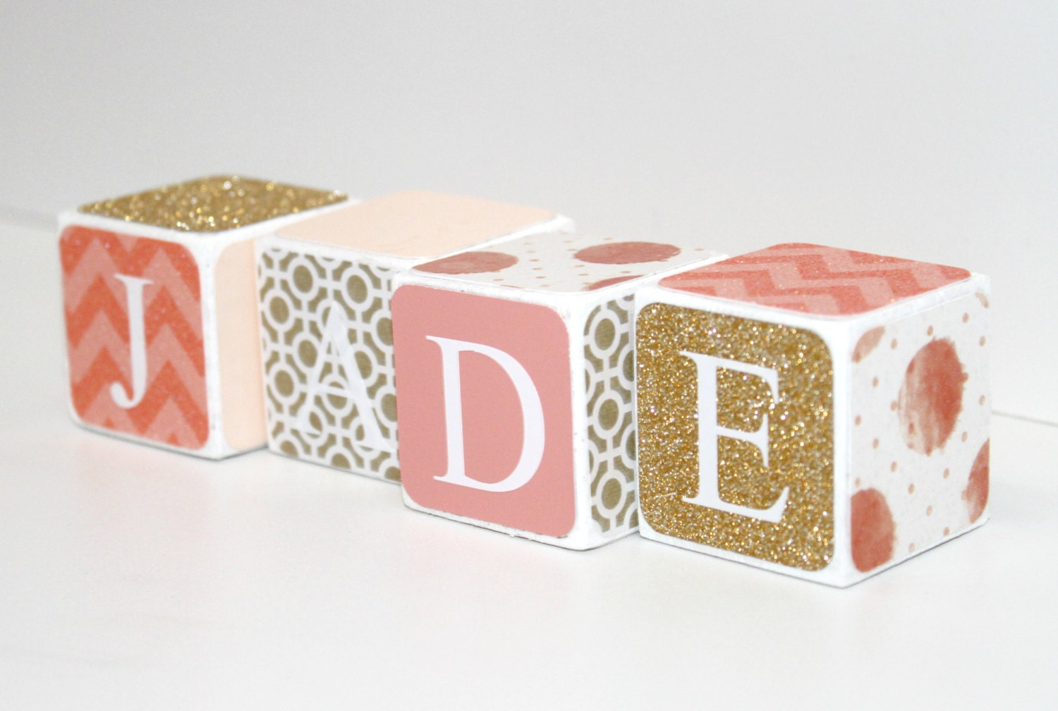Baby name baby blocks nursery baby shower gift custom baby name baby blocks nursery baby shower gift negle Image collections