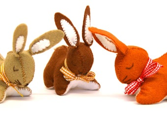 Felt Kit three p' little bunnies