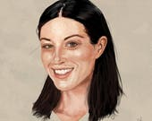 Stoya Portrait Art Print...