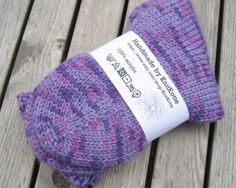 Women's knitted socks