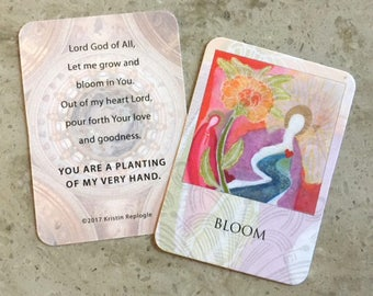 Bloom Prayer Card
