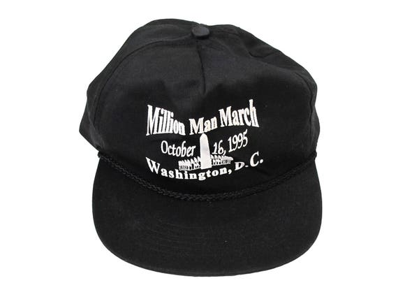 Million Man March Snapback Hat