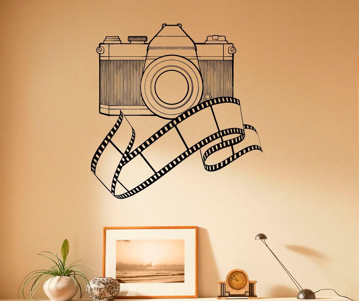 Vintage Camera Wall Decal Vinyl Stickers Photo Studio Interior