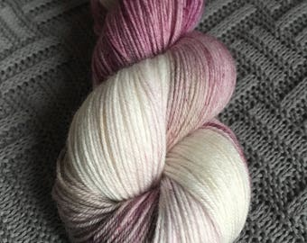 Pre Order Muddy Hem / OutLander Inspired Yarn / 4ply hand dyed yarn