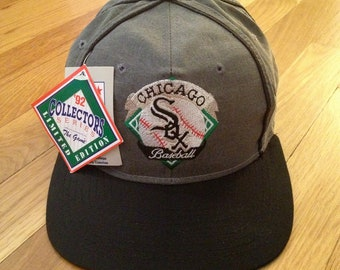vintage chicago white sox snapback the game 92 collectors series adult OSFA