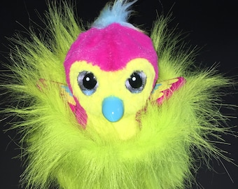 Fuzzy Snuggly Lime Green Nest / Bed For Your Hatchimal Hatchimals