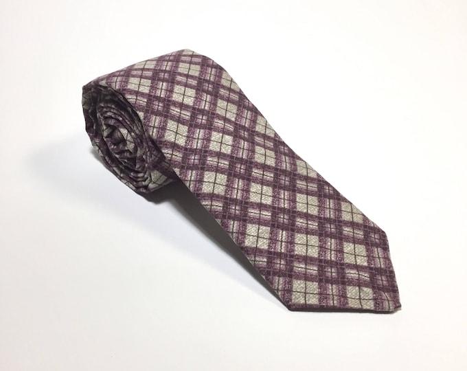 "The ""Prince's Pick"" Plaid Tie"