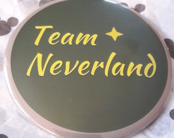 Neverland Button Badge