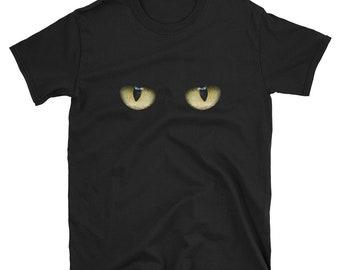 Creepy Cat Eyes T Shirt