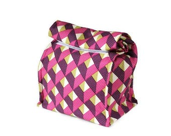 MTO Insulated lunch bag - Chevron