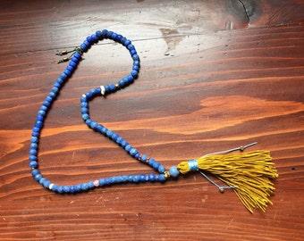 Yoga Naga 'Russian Blue' necklace