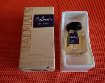 BALMAIN DE BALMAIN perfume miniature full + box