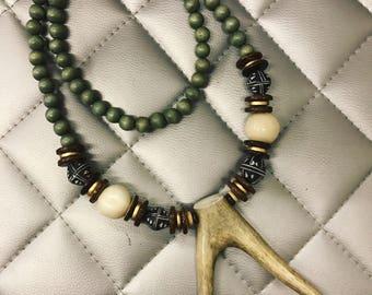 Fork Antler Necklace