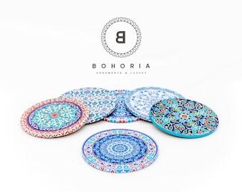 Bohoria ® Coaster (6-series) coffee cup (Oriental edition)