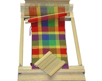 Weaving Loom for Beginners, 10-Inch Weaving Loom Kit