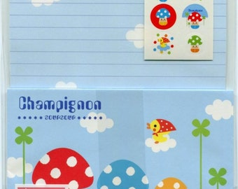 LAST ONE! Fast Shipping Brand New Kawaii Letter Set of 12 Sheets & 6 Envelope Memo sheets