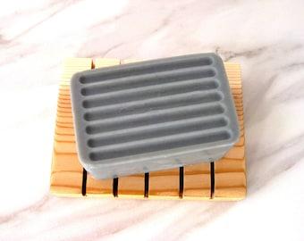 Mens Soap Bar Homemade Soap Bar Soap Artisan Soap Cold Process Soap Handcrafted Soap Skin Care Natural Soap Shave & a Haircut Charcoal Soap