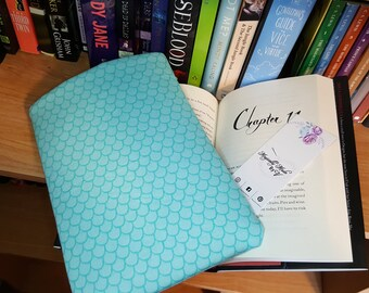 Personalized Mermaid Tail Book Sleeve Protector