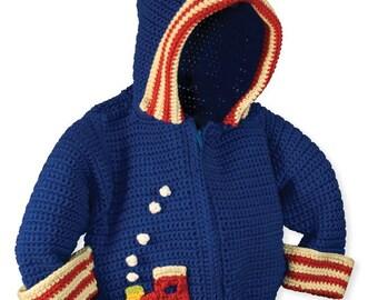Crochet Hoodie Pattern, Baby Boy Crochet Pattern, Crochet Jacket Patterns, Crochet Patterns