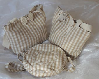 set of three bag