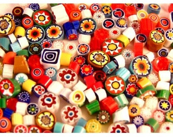 Millefiori Murrano- Mixed 20 grams
