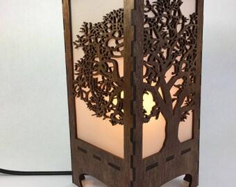 Lantern with Tree of Life, Home Decor, Lighting