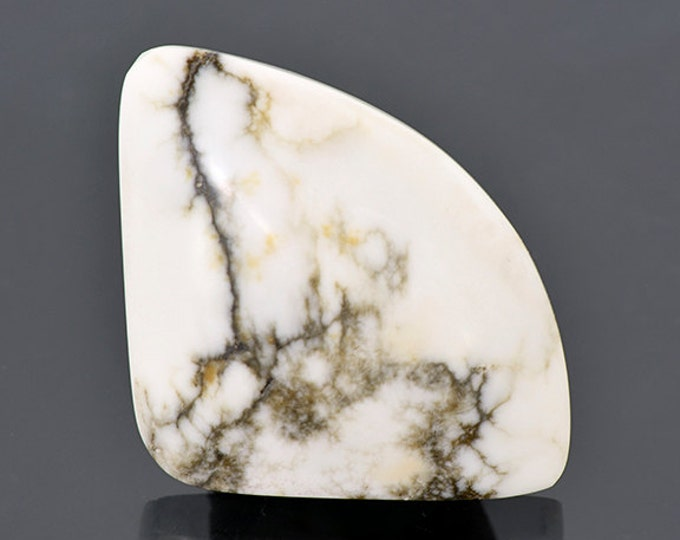 Interesting White Howlite Cabochon from Nevada 54.33 cts.