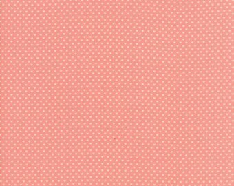 Home Sweet Home Dark Pink Swiss Hearts 20577 13 by Stacy Iset Hsu for Moda
