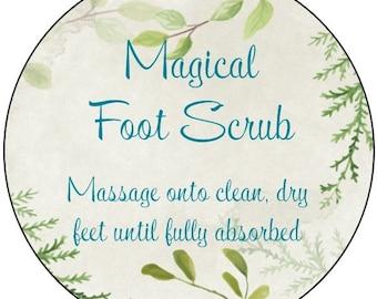 Magical Foot Scrub