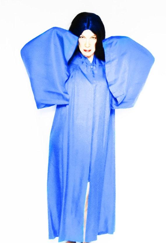 blue wizard robe one size unisex cosplay extravagant vintage