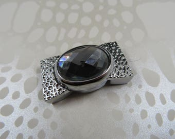 magnetic stone 16mm (A41) rhinestone magnetic clasp