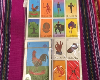 Mexican Loteria Game Set * FREE SHIPPING