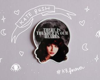 Kate Bush Vinyl Sticker