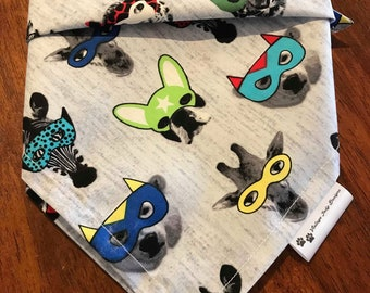 In Disguise Square Dog Bandana