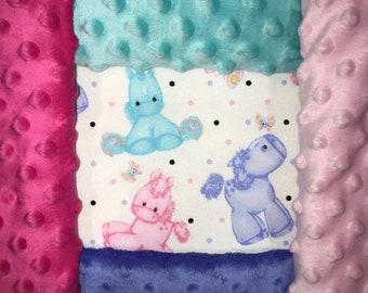 Personalized Foal Print Blanket