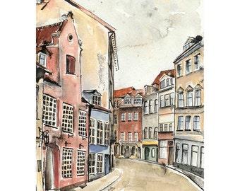 Riga in February