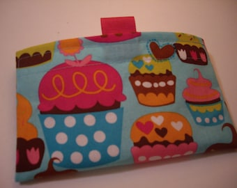 Cupcake Reusable Snack Bag