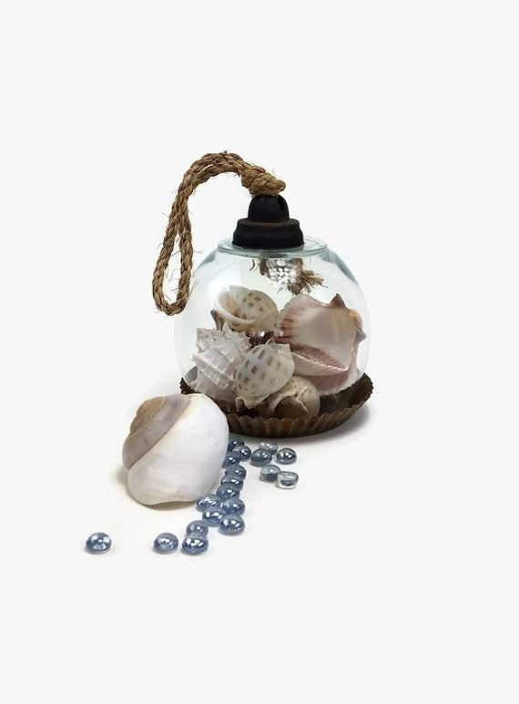 """Custom Glass Cloche, Knotted Rope Handle, Glass Dome On Tart Tin, Display, Hand Crafted-""""Ships International"""" Email For Rates"""