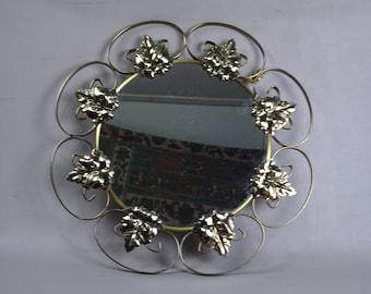 Mirror with metal frame-1970s-sunburst-Solar mirror