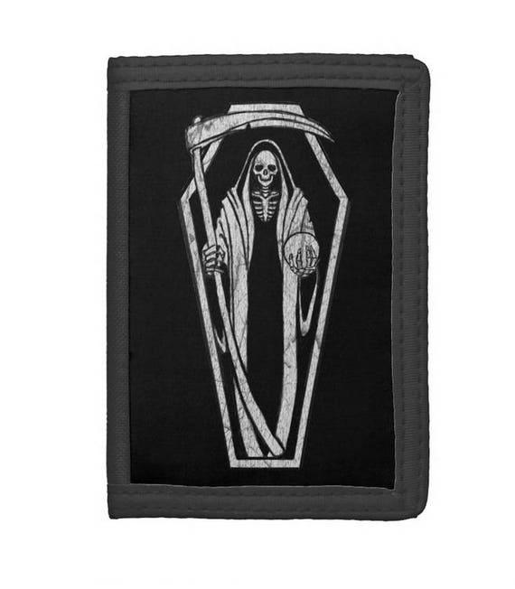 Grim Reaper trifold wallet