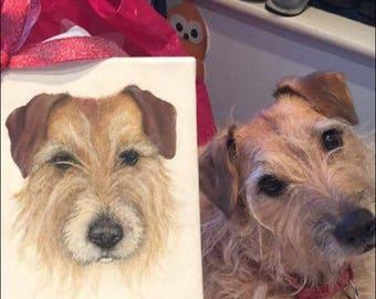 Dog/ pet portraits print