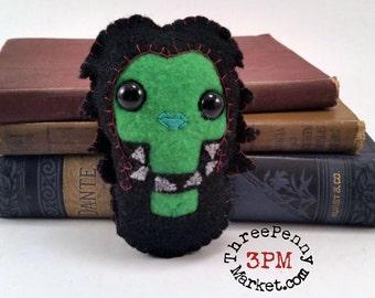 Gamora plushie (made to order)
