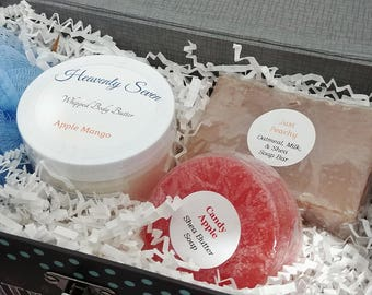 Bath & Body Gift Set in Keepsake/Trinket Box